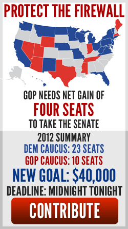 Four Senate seats are all that stand between our nation moving forward or falling back.