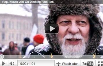 """Wisconsin …help fight """"class warfare"""""""