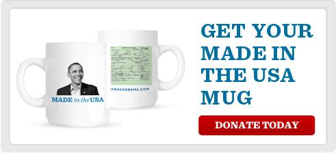 Made in America … Obama