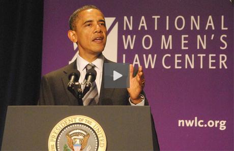 President Barack Obama Speaks at National Women's Law Center 2011 Annual Dinner