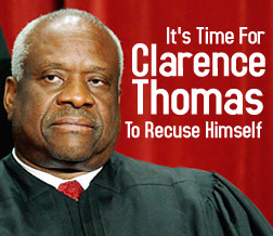 U.S. Supreme Court Justice Clarence Thomas has significant conflicts of interest -Affordable Health Care Act