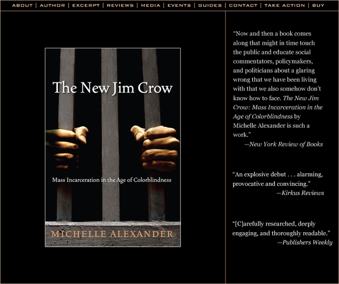 "in the Library … Michelle Alexander""s 'The New Jim Crow,'"
