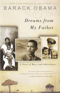 "In the Library ""Dreams from my Father … A story of Race and Inheritance by Barack H. Obama"