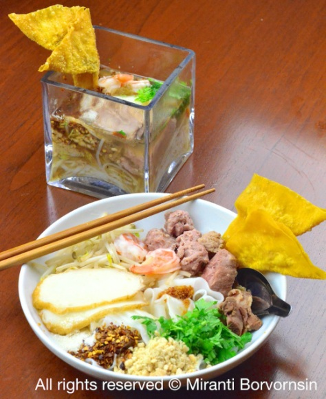 Guay Tiew Moo, Pork Noodles 7